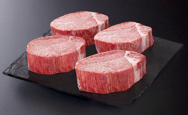 佐賀牛に匹敵する極上フィレステーキ!九州産黒毛和牛1.44kg