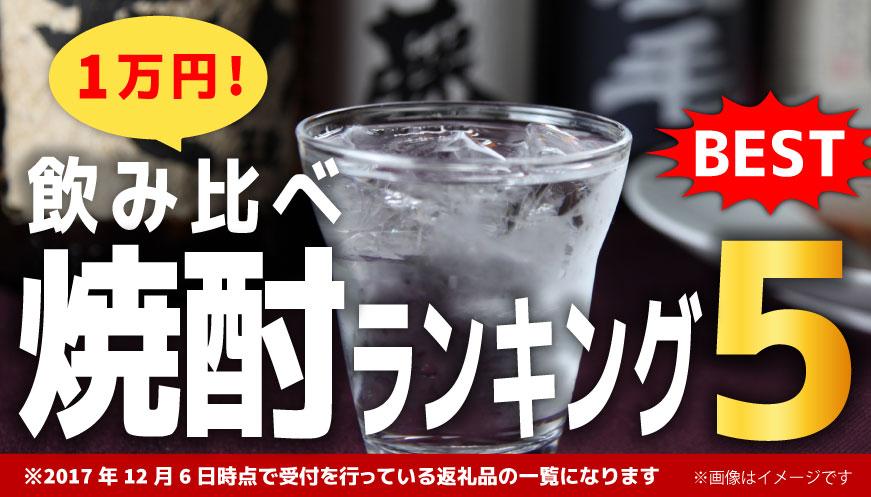 【焼酎 飲み比べセット】 1万円ランキング5!