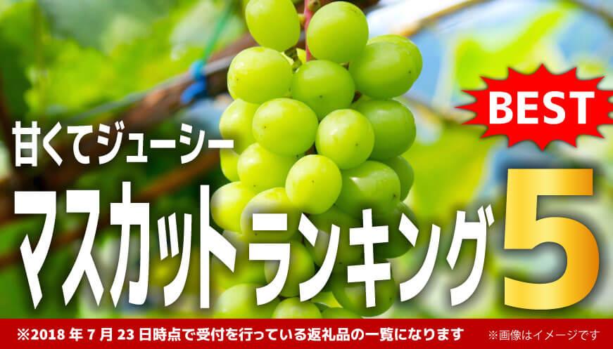 【人気のマスカット】ランキング5!