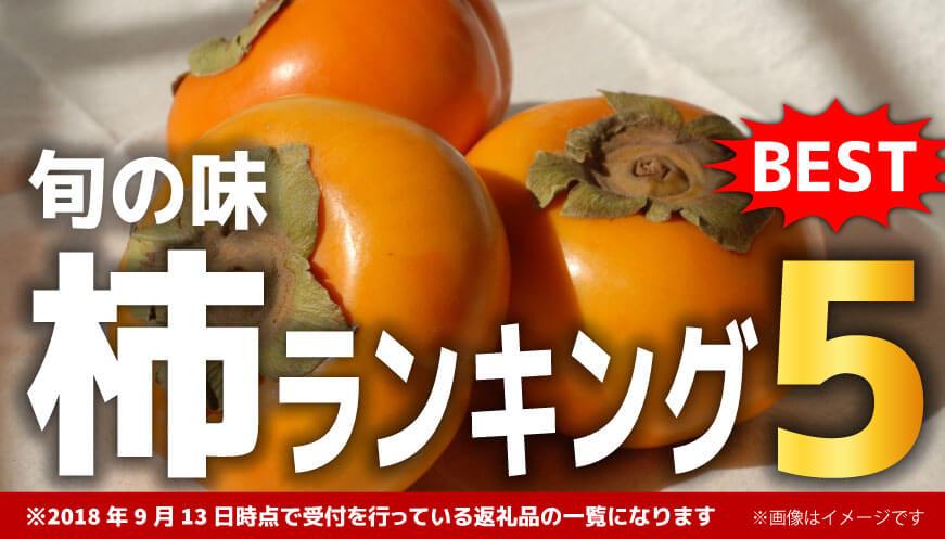 【人気の柿】ランキング5!