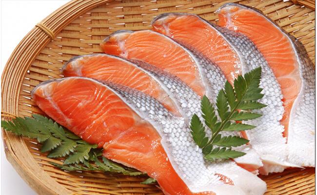 【5位】オホーツク産新巻鮭(オス)切り身セット