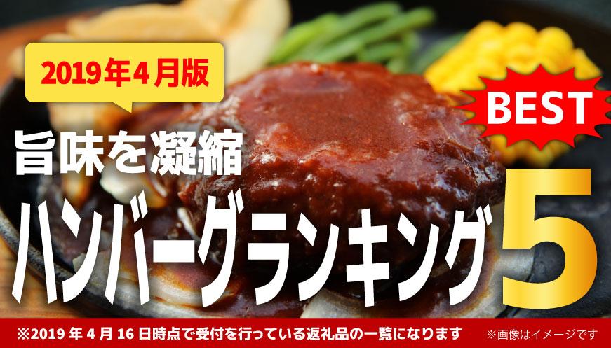 【2019年4月版】【人気のハンバーグ】1万円ランキング5!